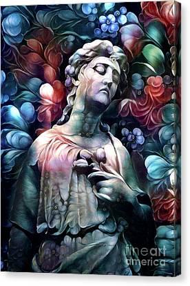 Sorrowful Angel 7 Canvas Print