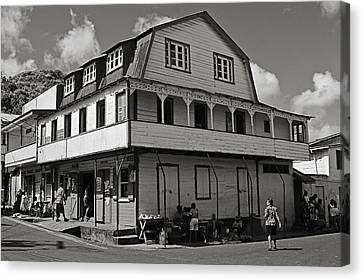 Soufriere House- St Lucia Canvas Print