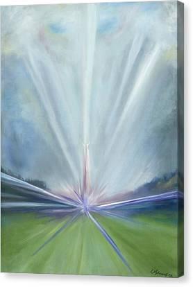 Soul Blastoff Canvas Print