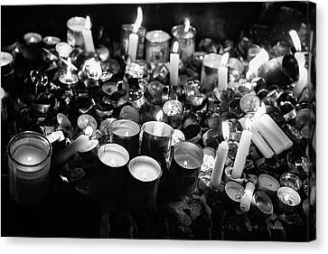 Soul Candles II Canvas Print