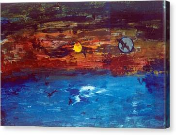 Soul Journey.. Canvas Print by Rooma Mehra