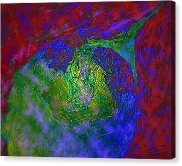 Bonding Canvas Print - Soul Mates by Dorothy Berry-Lound