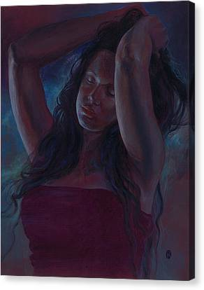 Canvas Print featuring the painting Soul Nocturne by Ragen Mendenhall