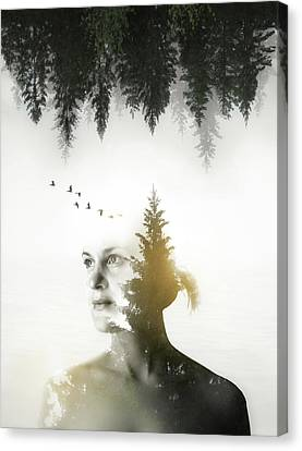 Canvas Print featuring the photograph Soul Of Nature by Nicklas Gustafsson