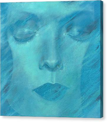 Canvas Print featuring the painting Soul  by Ragen Mendenhall