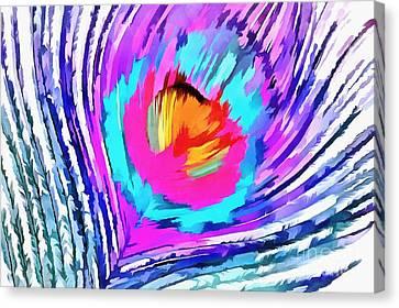 Soul Set Free Canvas Print by Krissy Katsimbras