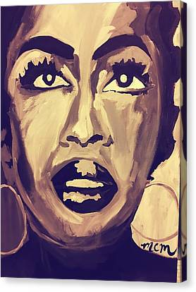 Soul Sister  Canvas Print by Miriam Moran