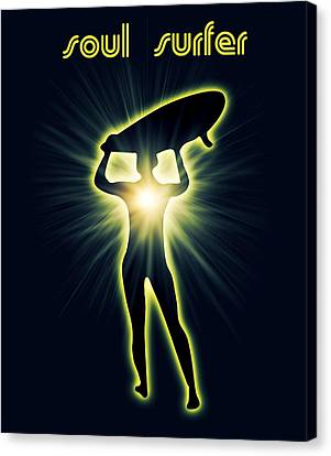 Soul Surfer Canvas Print by Mark Ashkenazi