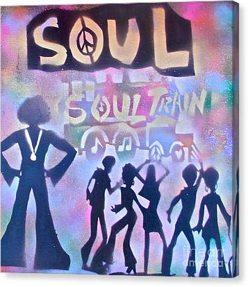 Soul Train 1 Canvas Print by Tony B Conscious