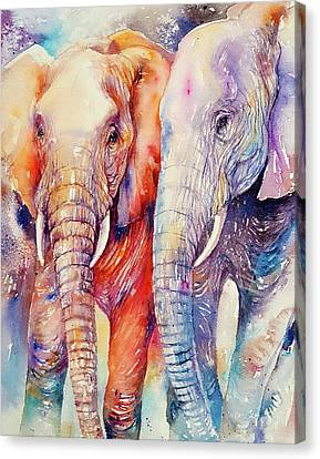 Soulmates Forever Canvas Print