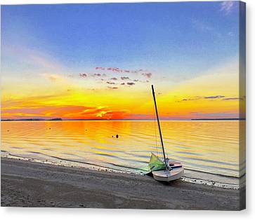 Souls Tended Canvas Print by Dee Dee Whittle