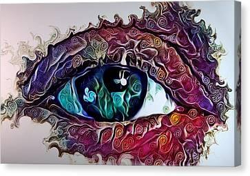Souls Window Canvas Print