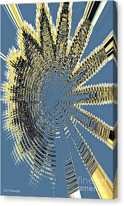 Sound Explosion Canvas Print by Marlena Nowaczyk
