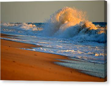 Sound Of The Surf Canvas Print
