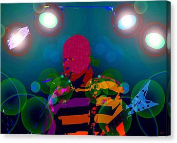 Sound Waves Canvas Print by David Lee Thompson
