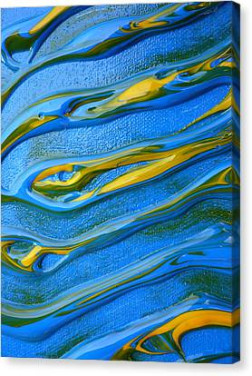 Sound Waves Canvas Print by Gregory Young