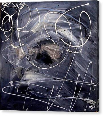 Sound Waves Canvas Print by Ofelia Uz