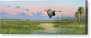 Sounds Of Silence Canvas Print by Mike Brown