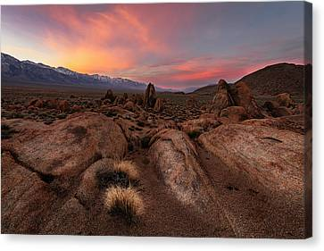 Canvas Print featuring the photograph Sounds Of Silence by Mike Lang