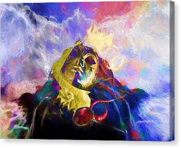 Soupirs#7 Canvas Print by Karo Evans