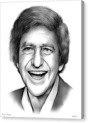 Soupy Sales Canvas Print by Greg Joens