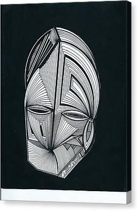 Sour Jini Alien Canvas Print by Dennis Caruso