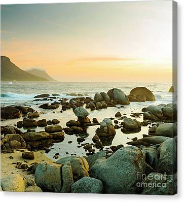 South African Ocean Sunset Canvas Print by Tim Hester