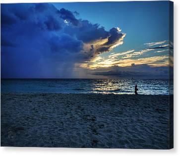 South Beach Sunrise 001 Canvas Print by Lance Vaughn