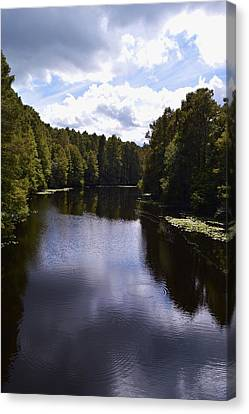 South Bound Canvas Print by Warren Thompson