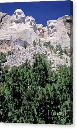 South Dakota, Keystone  Mount Rushmore Canvas Print by American School