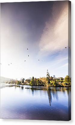 South-east Tasmania River Landscape Canvas Print by Jorgo Photography - Wall Art Gallery