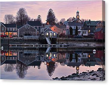 South End By Night Canvas Print by Eric Gendron