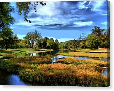 South Fork River Canvas Print by Rick Friedle