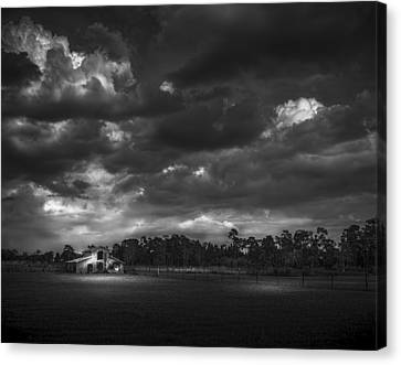 South Forty Bw2 Canvas Print