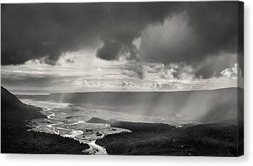 South Island Storm Canvas Print
