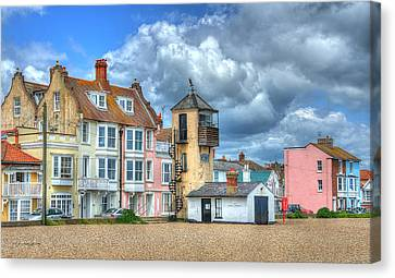 South Lookout Tower Aldeburgh Canvas Print