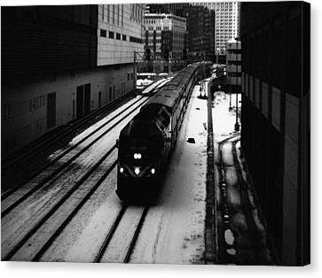 South Loop Railroad Canvas Print
