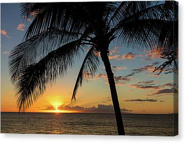 South Maui Sunset Canvas Print