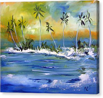 Patricia Taylor Canvas Print - South Pacific by Patricia Taylor