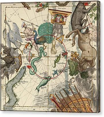 South Pole Canvas Print by Ignace-Gaston Pardies
