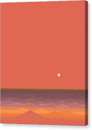 South Seas Abstract - Vertical Canvas Print