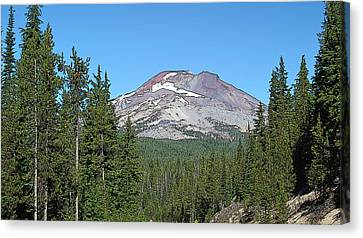 South Sister Canvas Print by Larry Darnell
