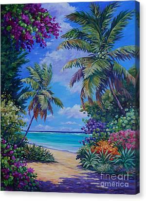 South Sound Colors Canvas Print
