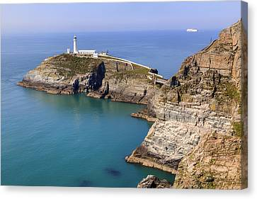 South Stack - Wales Canvas Print by Joana Kruse