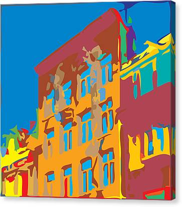 South Street Canvas Print by Kevin  Sherf