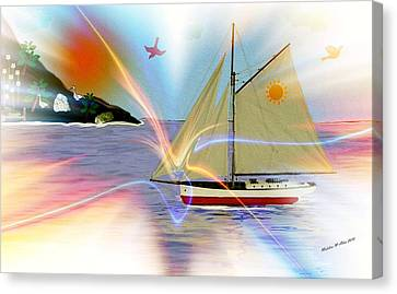 Water Vessels Canvas Print - South Winds by Madeline  Allen - SmudgeArt