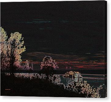 Southbound 2 Canvas Print