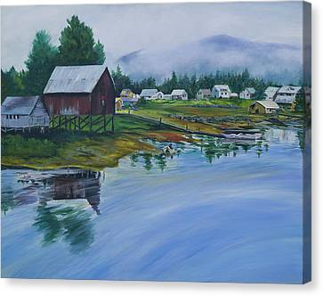 Southeast Alaska Canvas Print