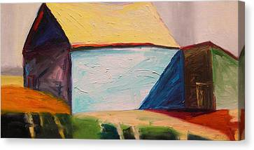 Southern Barn Canvas Print by John Williams