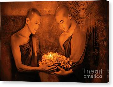Southern Buddhism Canvas Print